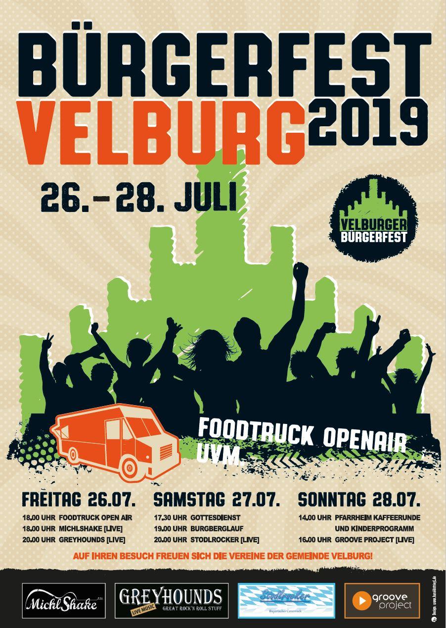 Bürgerfest - Burgberglauf