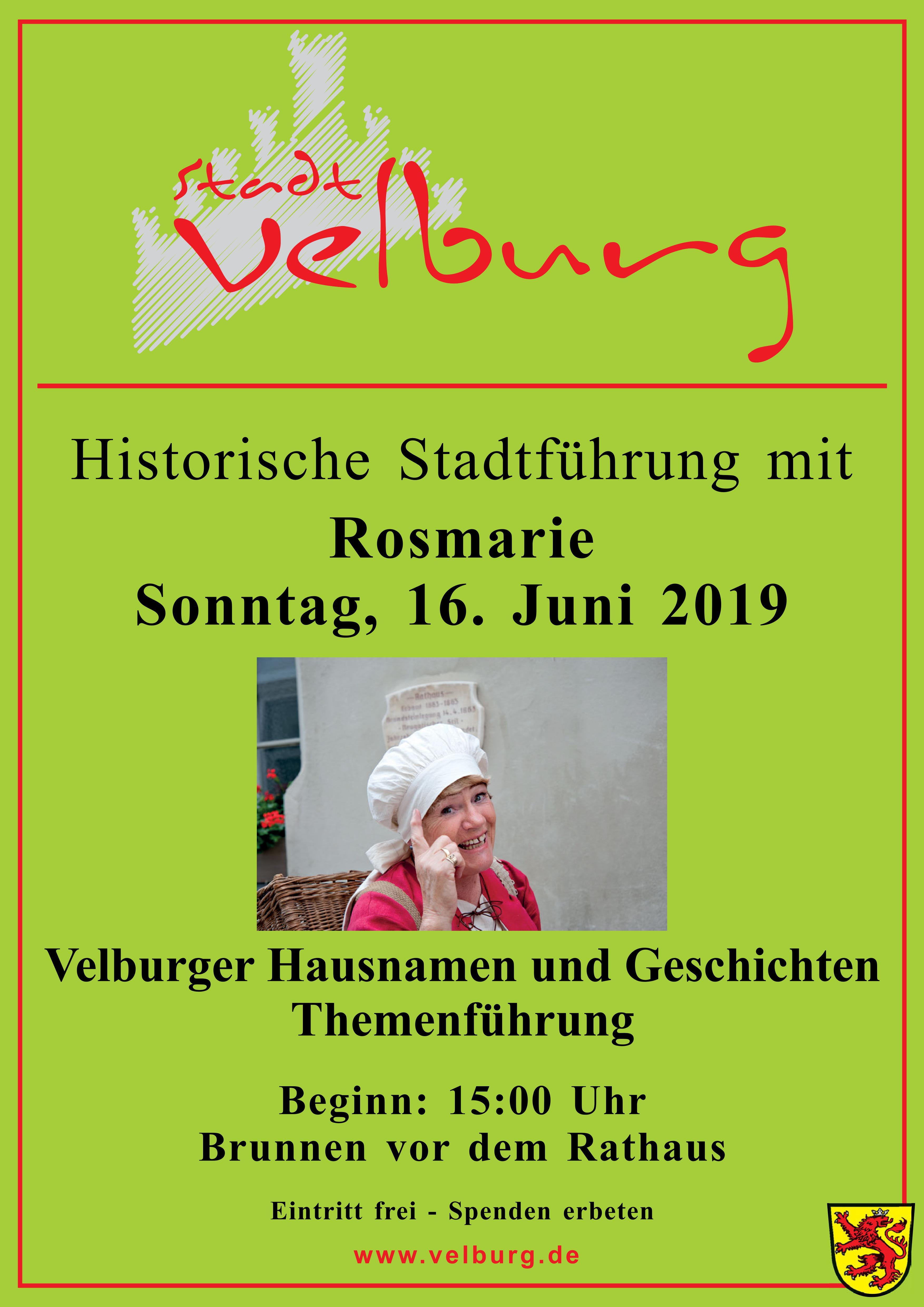 Historische Stadtführung mit Rosmarie Mändl