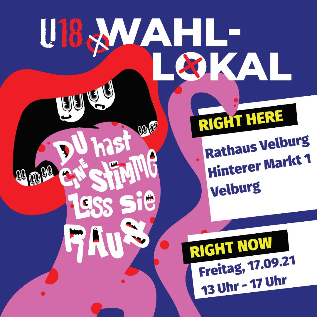 Die U18-Bundestagswahl findet auch in Velburg statt!